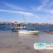 Arrivée sur l'îlot de Grimdi – Archipel de Kerkennah