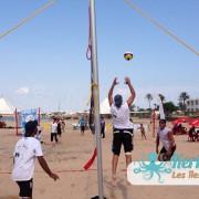 Jeu 3×3 beach volley ball Kerkennah terre beach volley Kerkennah Happy Beach Volley Ball