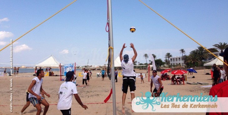 Jeu 3×3 beach volley ball Kerkennah terre beach volley Kerkennah Happy Beach Volley Ball