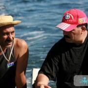 Kerkenniens sur une barque