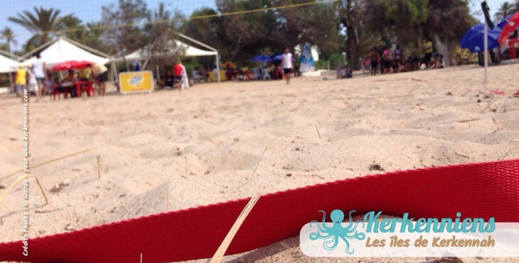 Kerkennah, la terre du beach volley