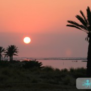 Lever de soleil de Kerkennah