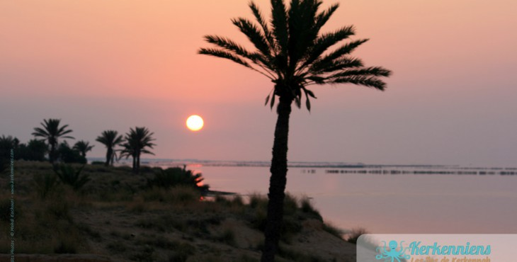 Kerkennah au lever du soleil