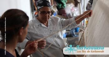 Mahbouba l'atelier d'Ouled Kacem Artisanat Kerkenniens Atelier Kerkenatiss Kerkennah