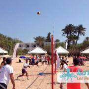 Match beach volley ball Kerkennah terre beach volley Kerkennah Happy Beach Volley Ball