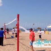 Match équipe femme beach volley ball Kerkennah terre beach volley Kerkennah Happy Beach Volley Ball