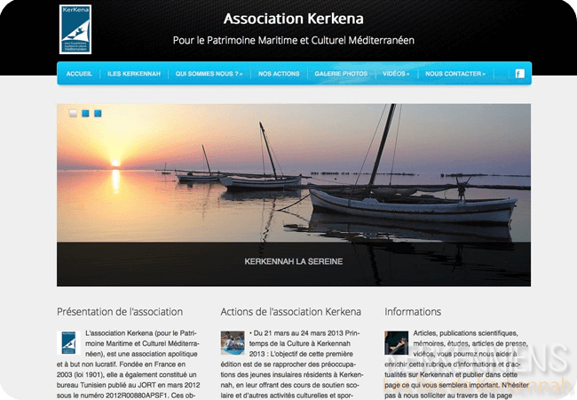 La nouvelle version l'Association Kerkena