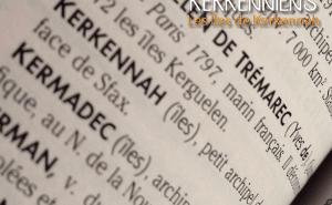 Orthographe : Les iles Kerkena, Kerkennah, Kerkenna, Kerkenah