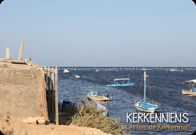 Les pêcheurs de Ouled Yaneg  flouka (parking de barque)