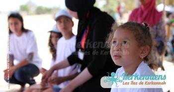 Petite fille de l'Atelier de dessin Tournoi de Beach volley Association Sports et Loisirs de Kerkennah