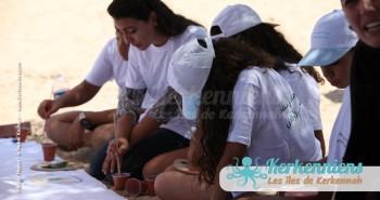 Petits et grands l'Atelier de dessin Tournoi de Beach volley Association Sports et Loisirs de Kerkennah