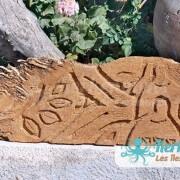 Photo Sculpture sur bois de palmier Izaro (Najib Bousabbah) Artiste Peintre et Sculpteur