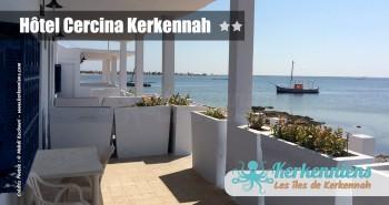 Chambre pied dans l'eau Hôtel Cercina Kerkennah Tunisie