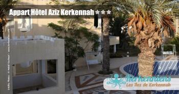 Piscine Appart Hôtel Aziz Kerkennah Tunisie
