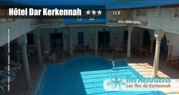 Piscine couverte Hôtel Dar Kerkennah – Kerkennah Tunisie