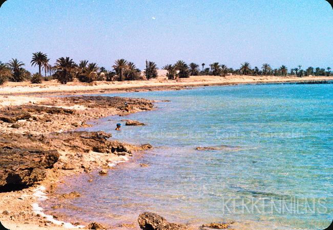 La plage de Sidi fredj Kerkennah kerkenniens le blog