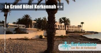 Plage de sable Seabel Le Grand Hôtel Kerkennah Tunisie