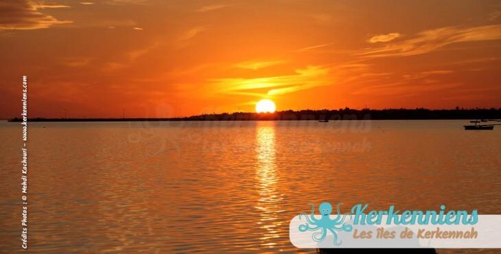 Poème couchers de soleil kerkennah Tunisie
