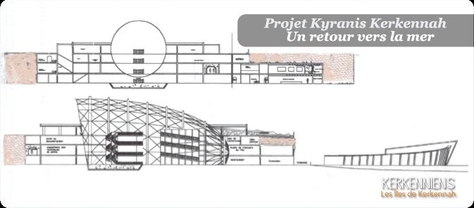 Parti architectural du projet Kyranis Kerkennah
