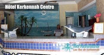 Réception Hôtel Kerkennah Centre Tunisie