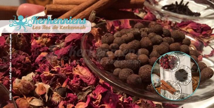 Recette cuisine 5 condiments pour le mélange d'épices : ras el hanout made in Kerkenniens