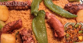 Recette de cuisine: Couscous aux poulpes de Kerkennah photo-10
