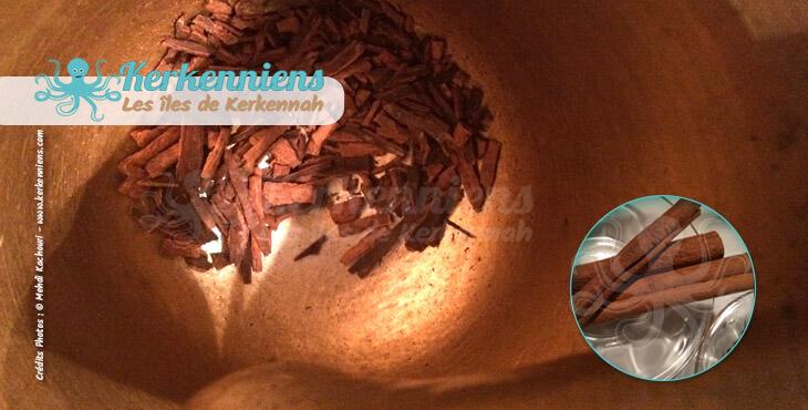 Recette cuisine utilisez un pilon (Mehreze) ou broyeur-eminceur de condiments : ras el hanout made in Kerkenniens