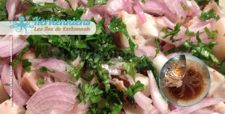 Salade de poulpe à la kerkennienne Recette de cuisine  - Photo 5