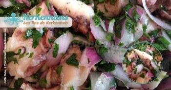 Salade de poulpe à la kerkennienne Recette de cuisine - Photo 7