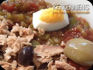 Recette de cuisine salade m chouia au barbecue kerkennien - Tastira cuisine tunisienne ...