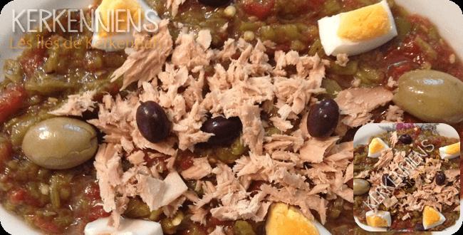 Recette de cuisine Salade Méchouia au barbecue photo-12