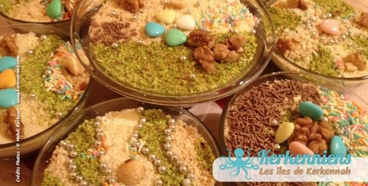 Recette de cuisine : Assida Zgougou Tunisienne