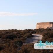 Le chemin pour accéder au Fort Lahsar