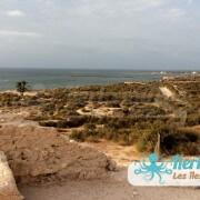 La vue du fort Lahsar îles de Kerkennah Tunisie Borj Lahsar Kerkennah