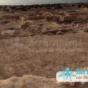 Devant le Fort Lahsar îles de Kerkennah Tunisie Borj Lahsar Kerkennah