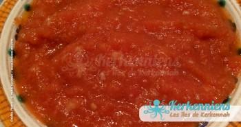 Recette de cuisine de la sauce kerkénaise