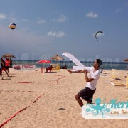 Service beach volley ball Kerkennah terre beach volley Kerkennah Happy Beach Volley Ball