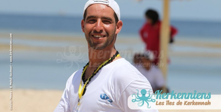 Sohail Megdiche Tournoi de Beach volley Association Sports et Loisirs de Kerkennah