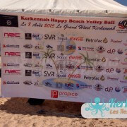 Sponsors Kerkennah terre beach volley Kerkennah Happy Beach Volley Ball