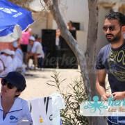 Stand Tunisie Telecom Tournoi de Beach volley Association Sports et Loisirs de Kerkennah