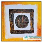 Tableau improvisation 49×49 Izaro Najib Bousabbah Artiste Peintre et Sculpteur