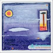 Tableau le soleil brillera 68×68 Izaro Najib Bousabbah Artiste Peintre et Sculpteur