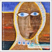 Tableau regard 49×49 Izaro Najib Bousabbah Artiste Peintre et Sculpteur