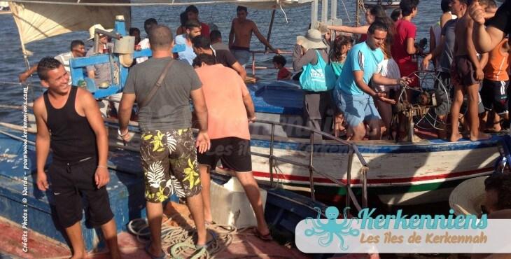 Taxi barques Koffa L'expérience de la koffa quand tu n'es pas kerkennien