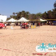 Terrain de beach volley ball Kerkennah terre beach volley Kerkennah Happy Beach Volley Ball