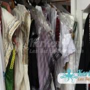 Vêtement robe création et traditionnel kerkennien Tissage broderie Vannerie Atelier Kerkenatiss