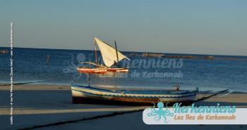 Voile latine flouka de Kerkennah San'Art Photographie (Sanna Fehri) Photographe Amateur El Maghaza
