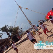 Volley ball Kerkennah terre beach volley Kerkennah Happy Beach Volley Ball