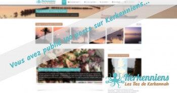 Kerkenniens.com compte désormais 100 articles en ligne