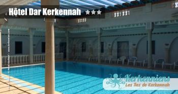 Vue piscine couverte Hôtel Dar Kerkennah – Kerkennah Tunisie
